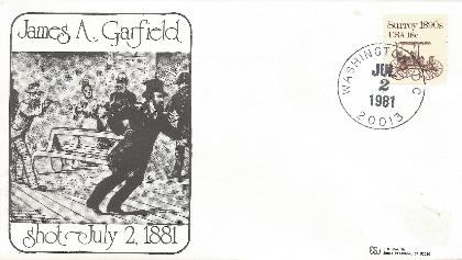 Garfield  81-07-02 Special event cover #3