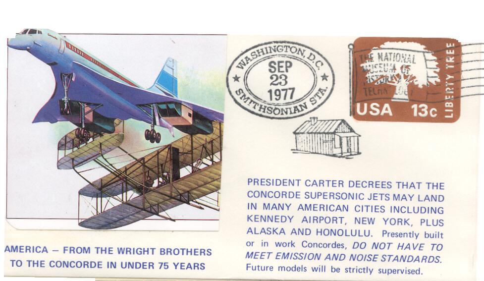 Carter allows Concorde to Land