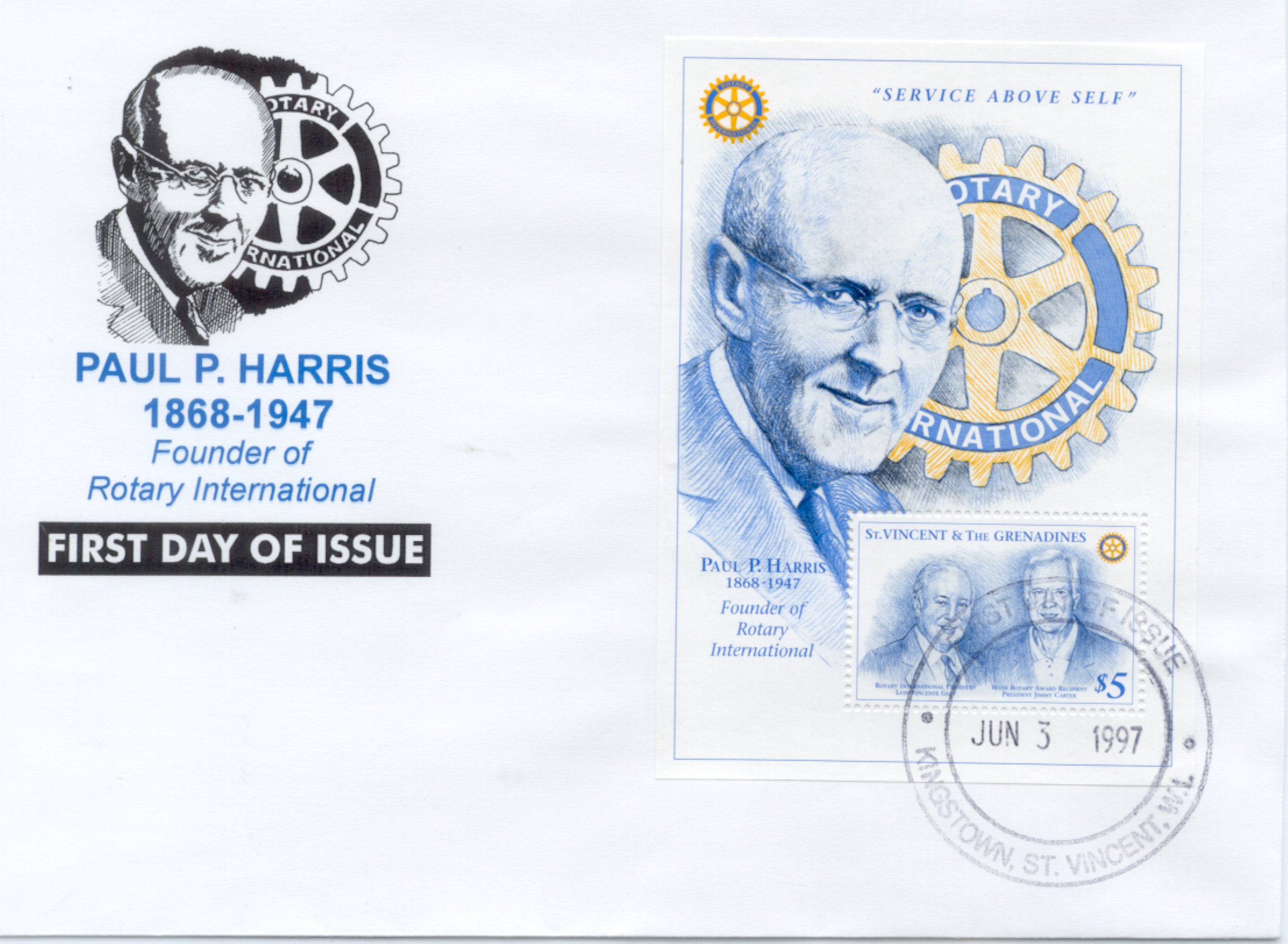 St Vincent Rotary FDC