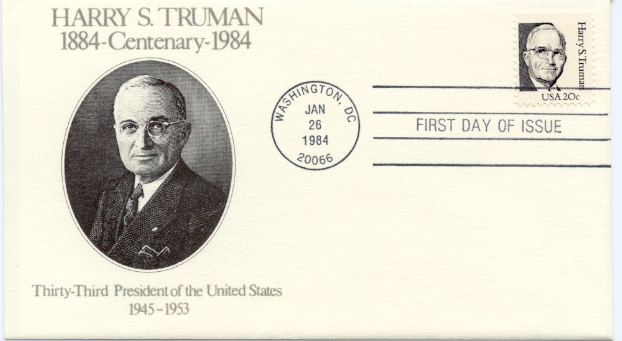 HST Definitive FDC #21