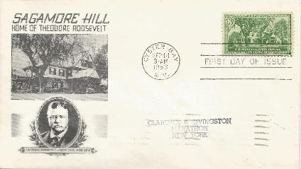 Sagamore Hill 53-09-14 FDC #2