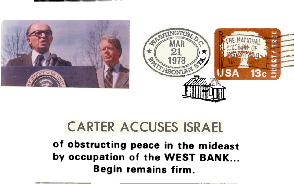 Carter Accuses Israel