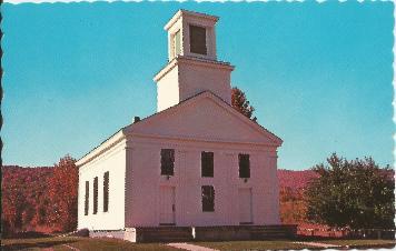 Plymouth Church Postcard