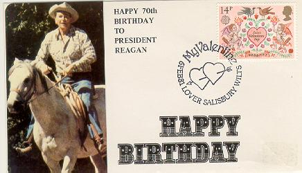 UK Reagan Birthday