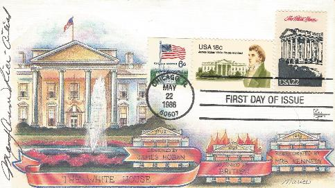 White House Ameripex FDC