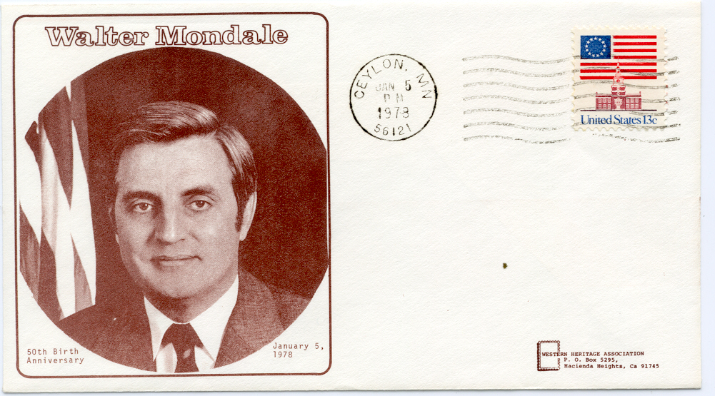 Mondale Birthday Cover