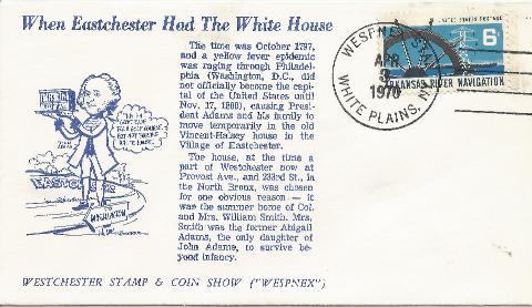 John Adams White House in Eastchester