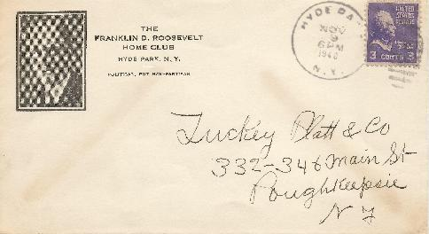 Roosevelt Corner Card