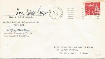 Henry Cabot Lodge - UN Ambassador