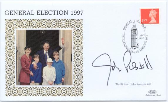 1997 General Elction John Prescott signed