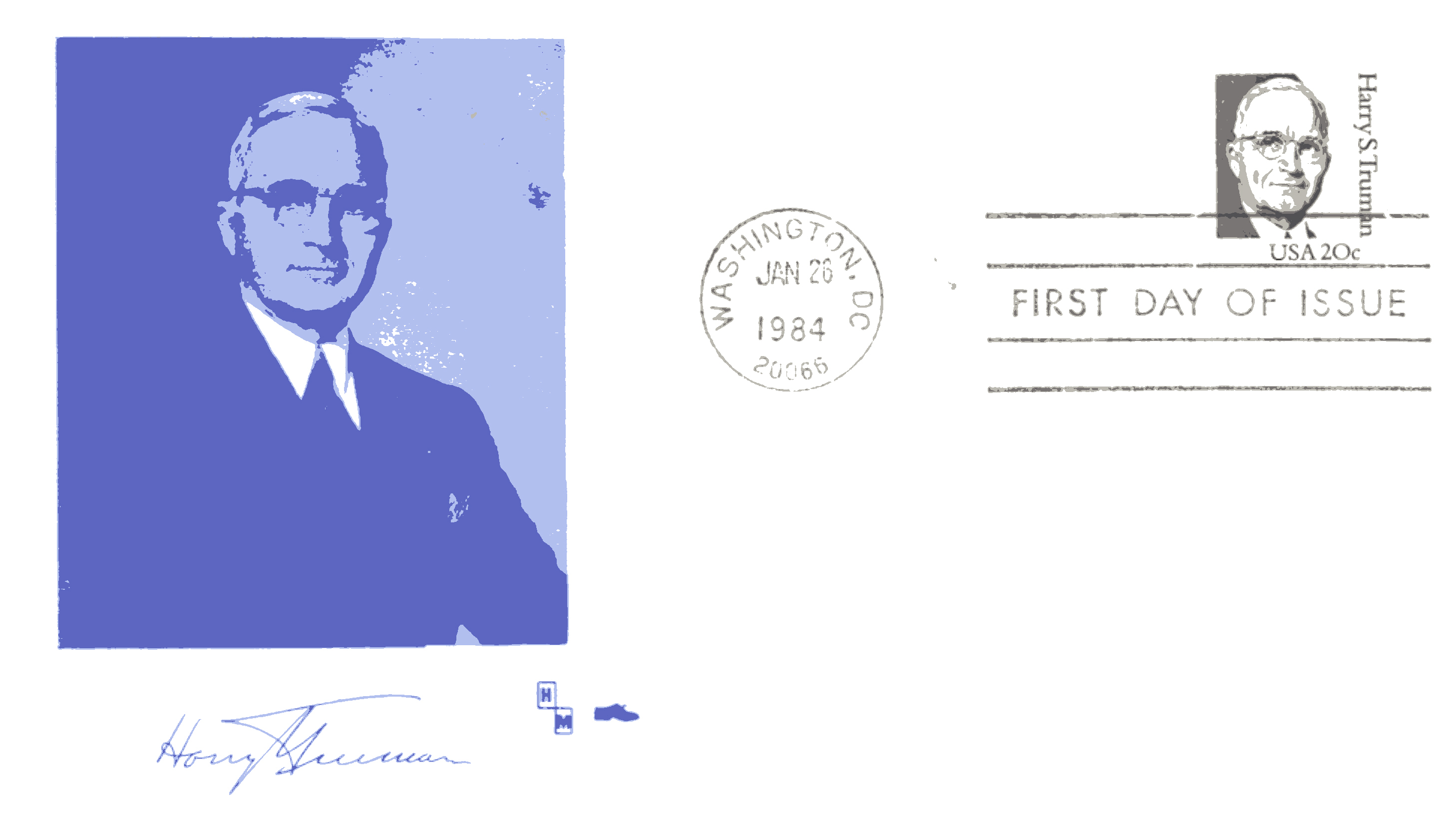HST Definitive FDC #15