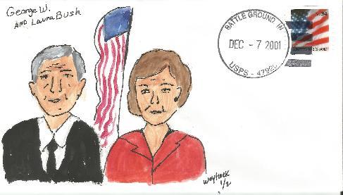 George & Laura Bush