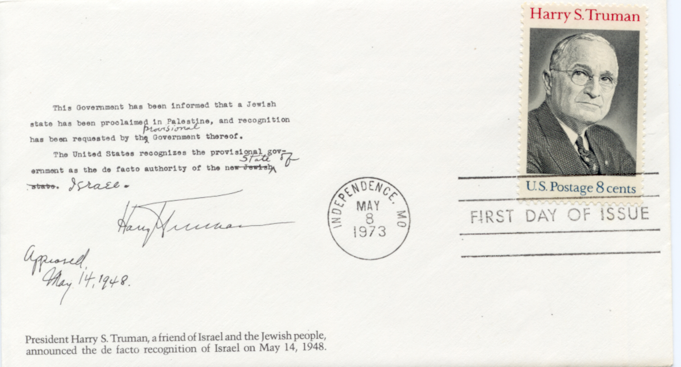 HST Memorial FDC #5