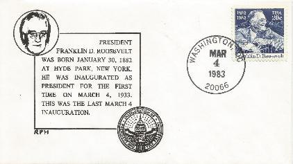 83-03-04 FDR Inaugural Anniv