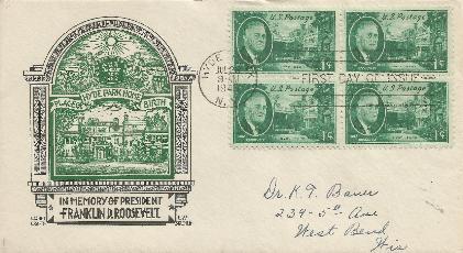 45-07-26 FDR Memorial 1 cent #1