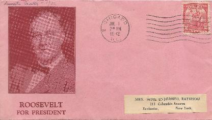 32-07-01 Roosevelt for President