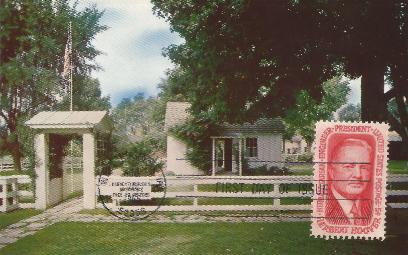 Hoover Memorial Postcard