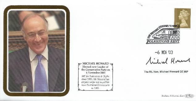Conservative Party Election Signed by Michael Howard