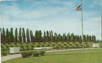 Grave Site Postcard