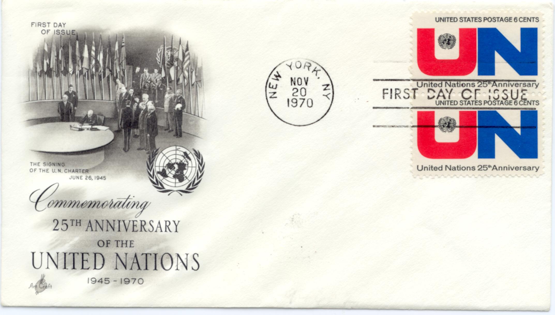UN Anniversary FDC