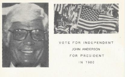 John Anderson for President