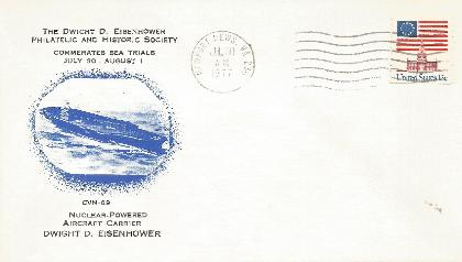 DDESEC 77-07-30-2 CVN-69 Sea Trials