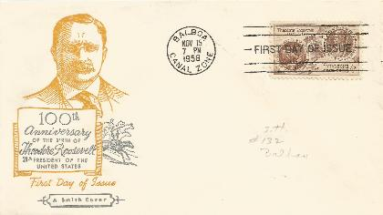 Canal Zone FDC #2