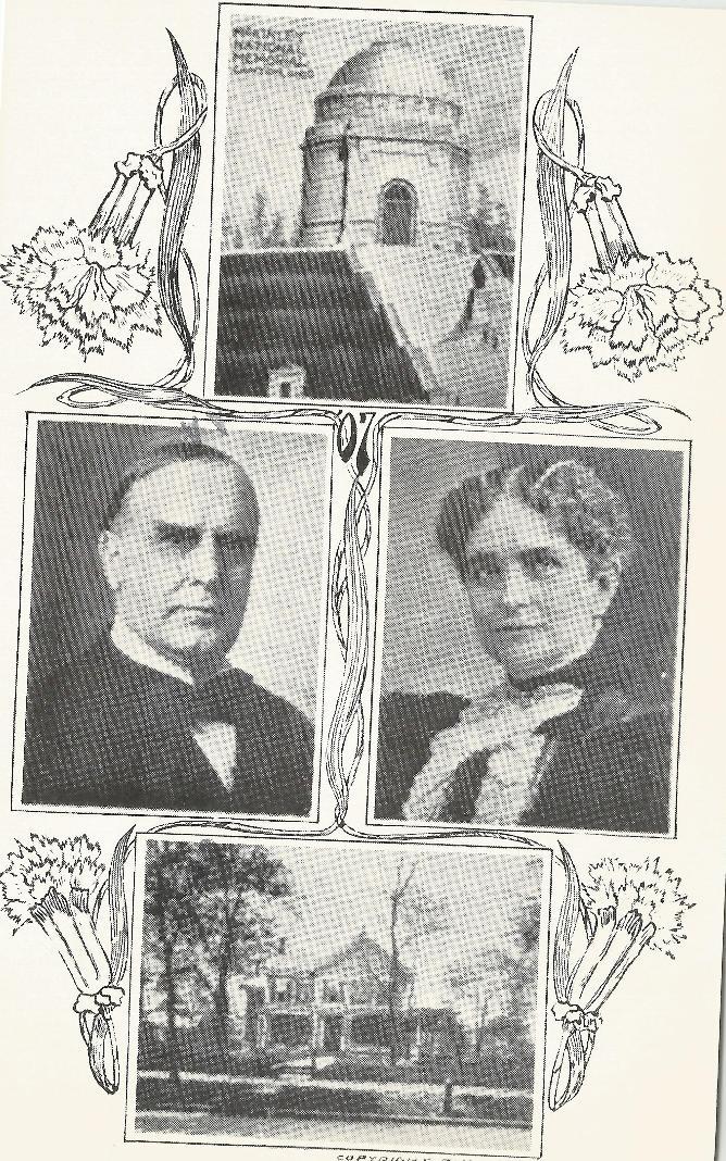 Mckinley & wife postcard