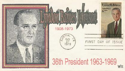 73-08-27 LBJ Memorial FDC #10