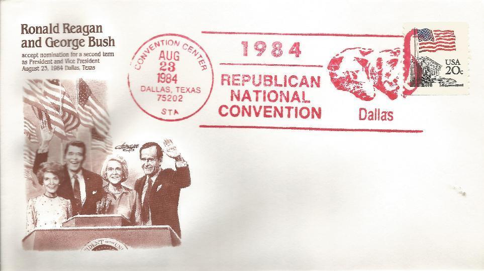 RNC 8-23-84 Republican Convention