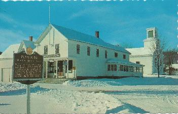 Coolidge Birthplace postcard