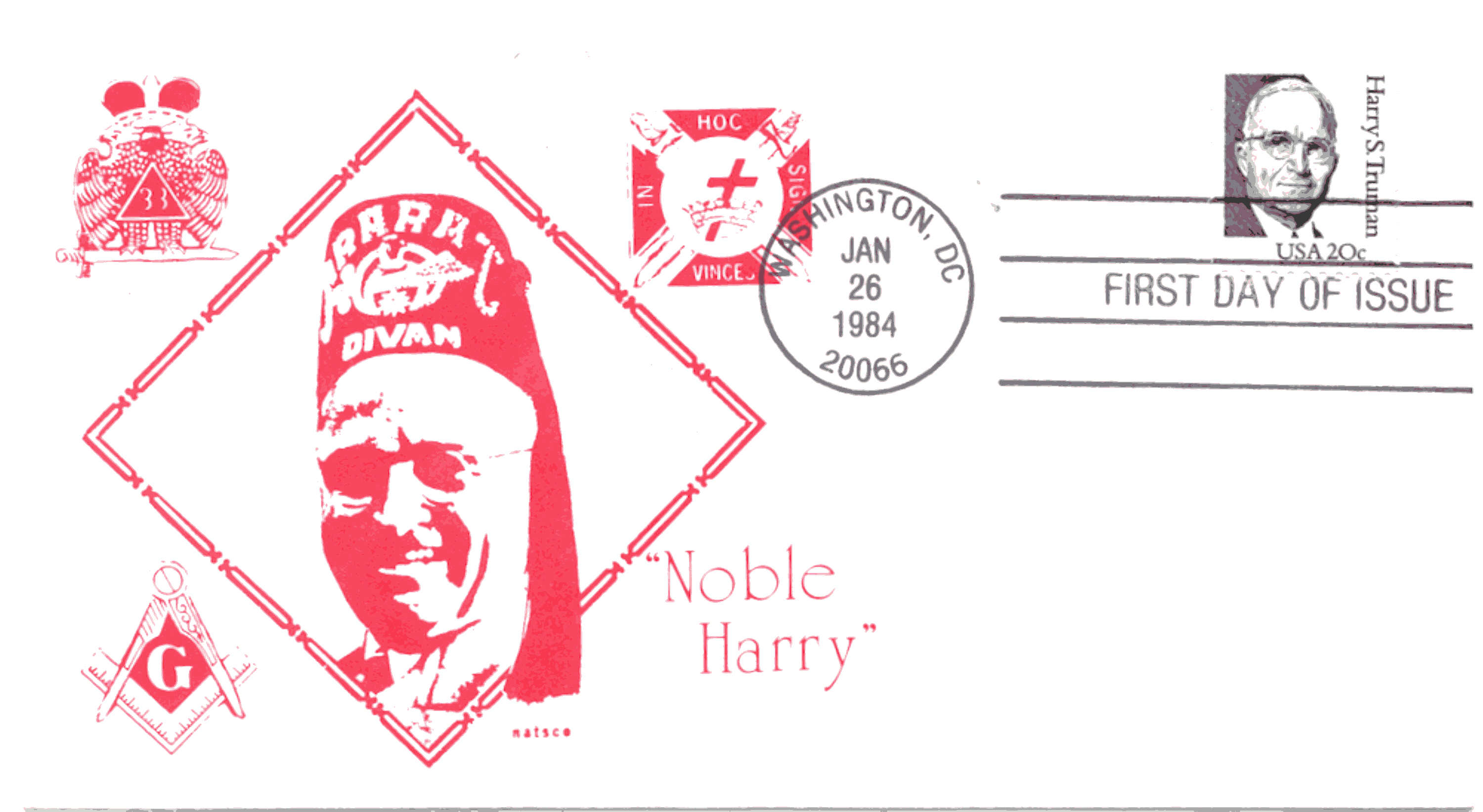HST Definitive FDC #20