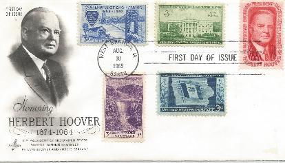 Hoover Memorial Cover #2b