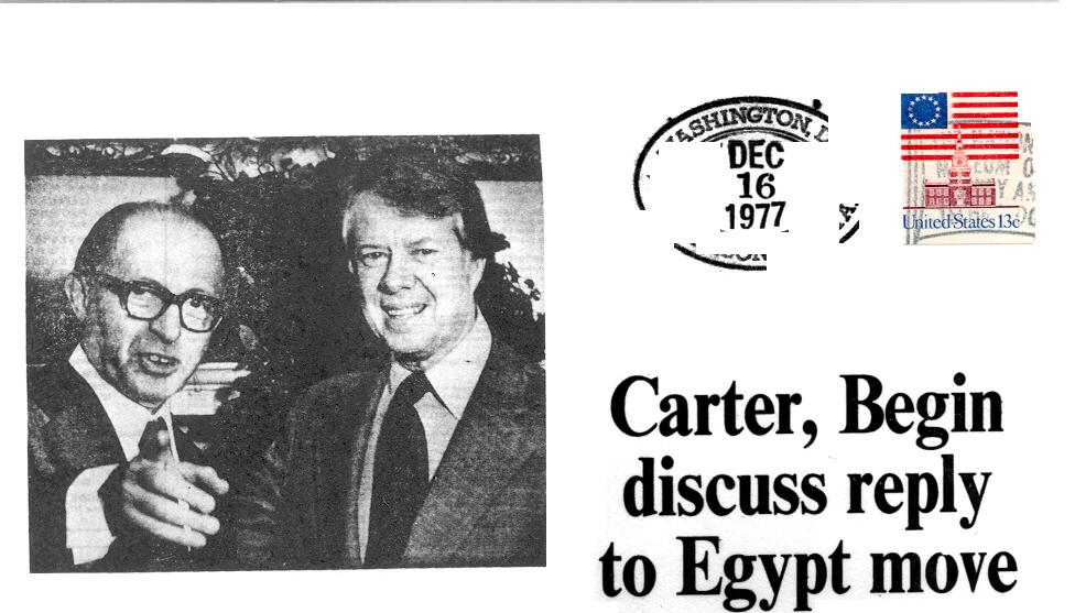 Carter Begin Discussions
