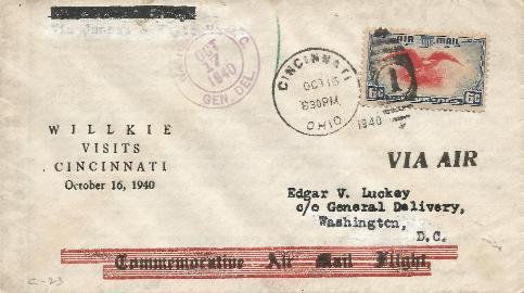 Wilkie visits Cincinnati