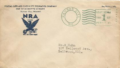 NRA envelope