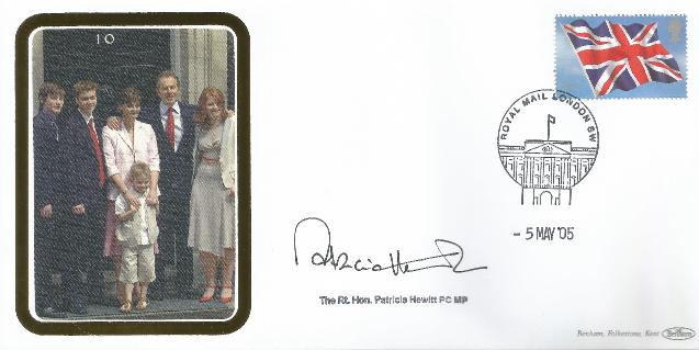 2005 General Election signed by Patricia Hewitt
