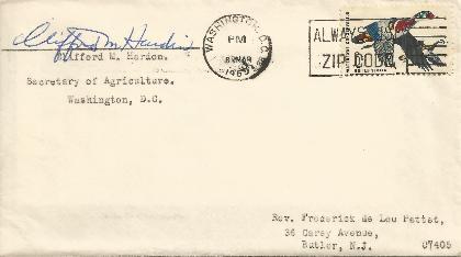 Clifford Hardin - Agriculture Secretary