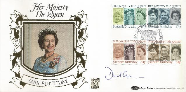 2000 Queens Birthday Signed by David Cameron