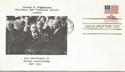 DDESEC 77-01-20 20th Anniv Inauguration