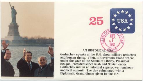 Gorbachev visit