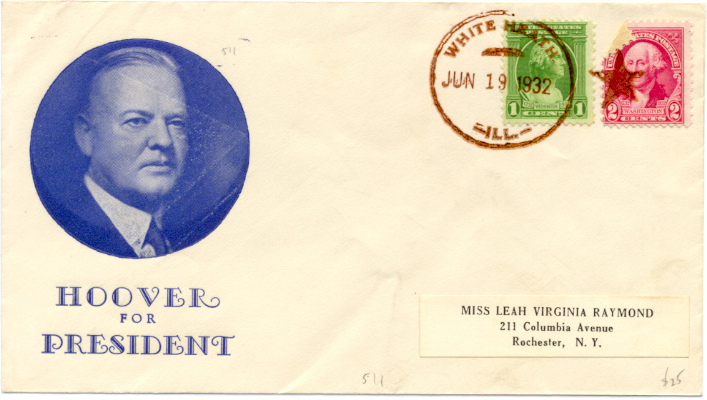 Hoover campaign cover