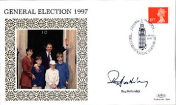 1997 General Election Roy Hattersley signed