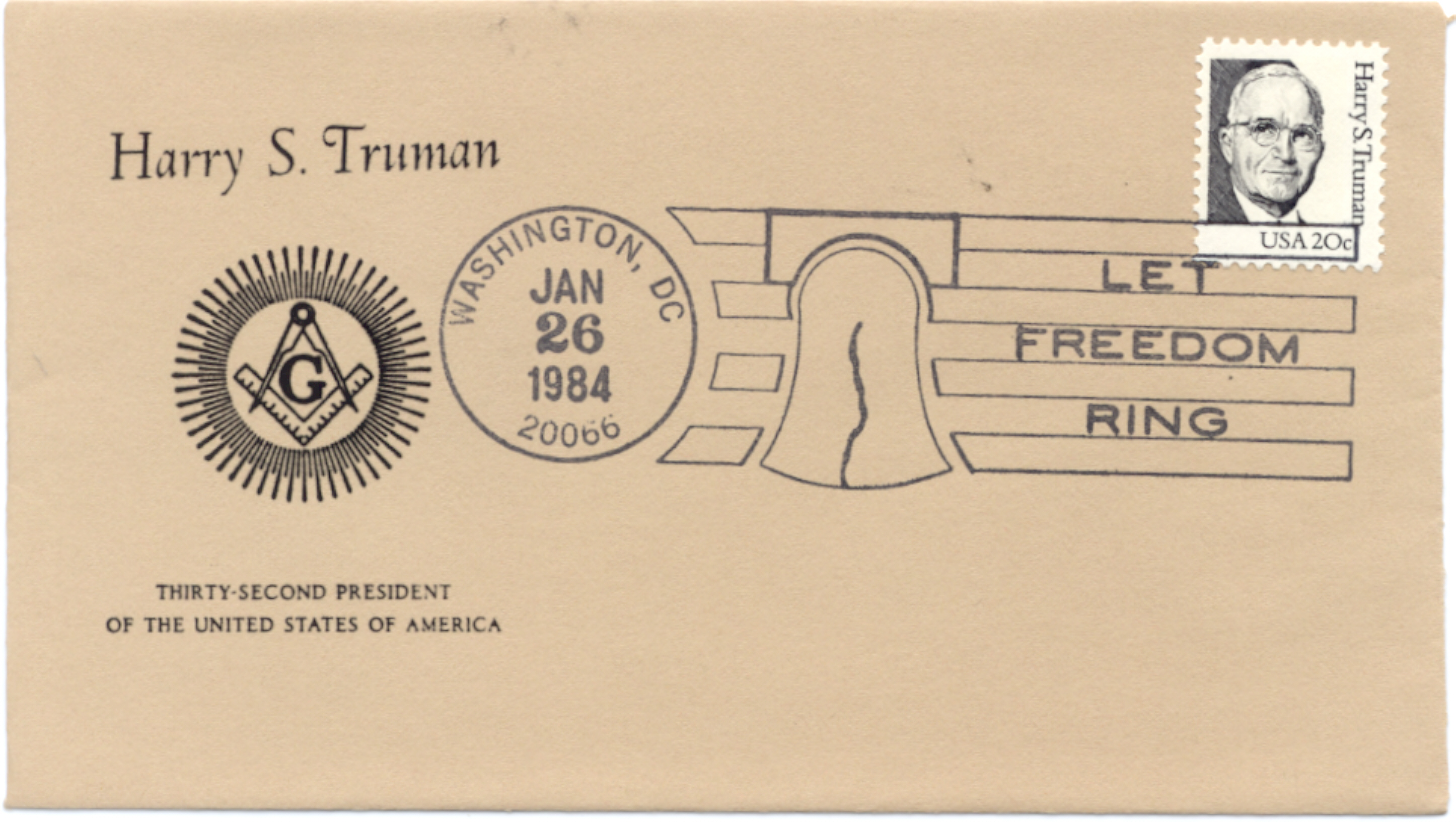 HST Definitive FDC #3