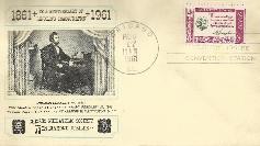AL 61-08-17a Lincoln Arrival In Washington Anniversary