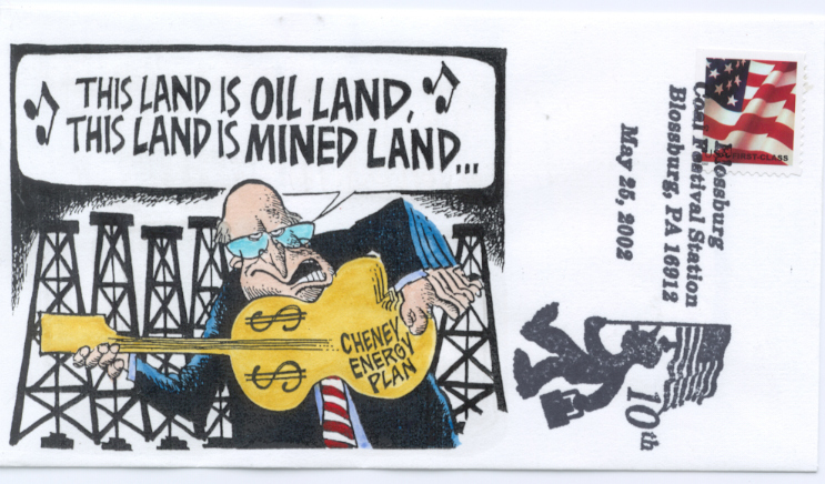 This Land is Oil Land Cartoon