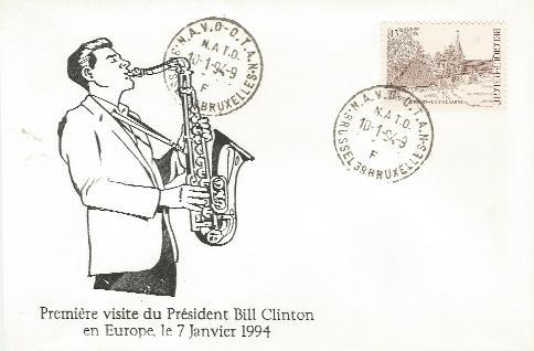 Belgium Clinton visit #2