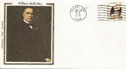 McKinley 76-01-29 Special Event Cover #9