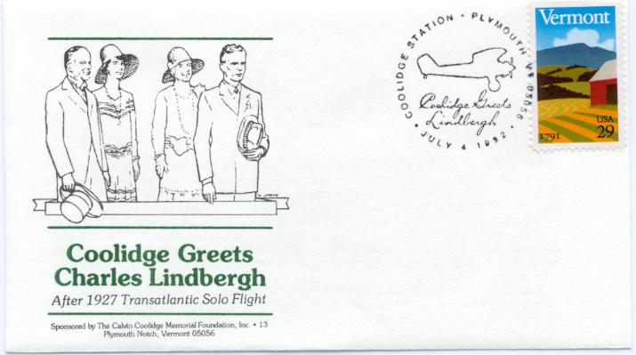 Greets Lindbergh 92-07-04