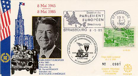 France #3 Reagan Visit to EU